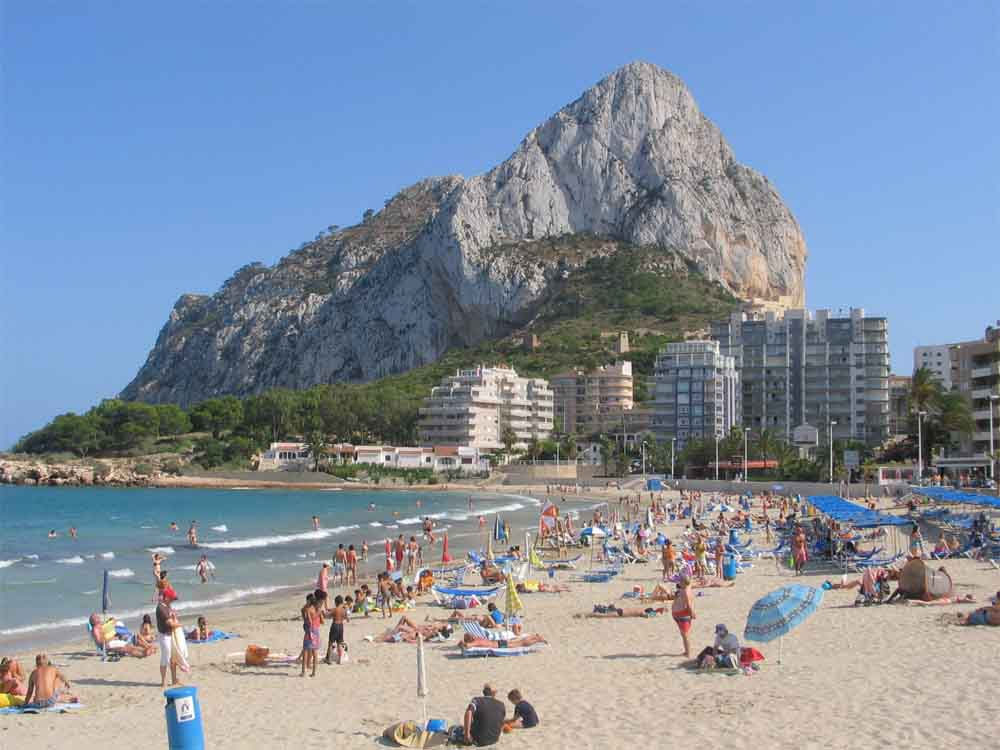 Costa Blanca Holidays - Nice Beach