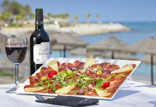 Holidays in Costa Del Sol - Nice Food