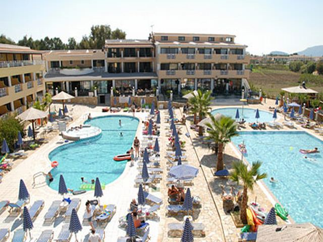 Laganas Hotels with swimming pools