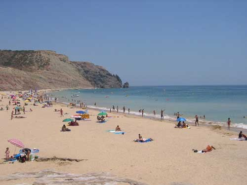 Albufeira beach holiday