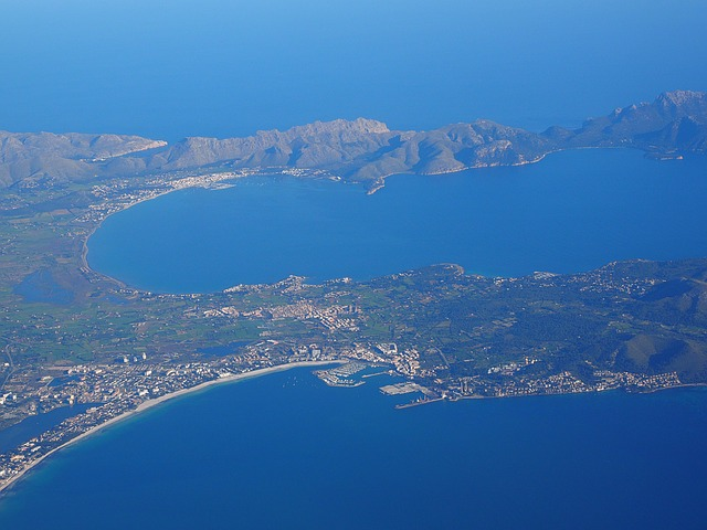 Holidays to Alcudia aerial view