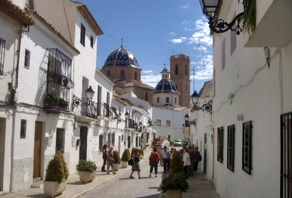 Altea town hotels